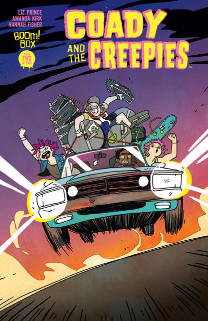 Coady and the Creepies #1-4 (2017) Complete