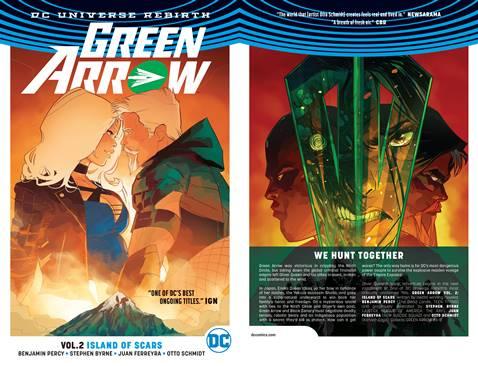 Green Arrow v02 - Island of Scars (2017)