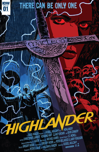 Highlander - The American Dream #1-5 (2017) Complete